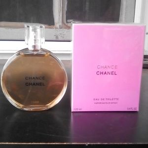Brand New Chanel Chance EDT 3.4oz Never Opened